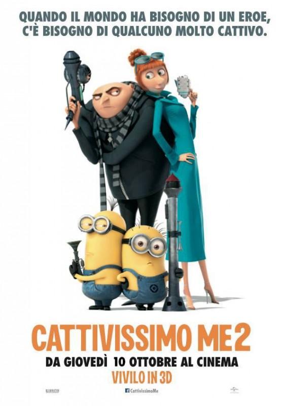 Cattivissimo me 2: il poster italiano