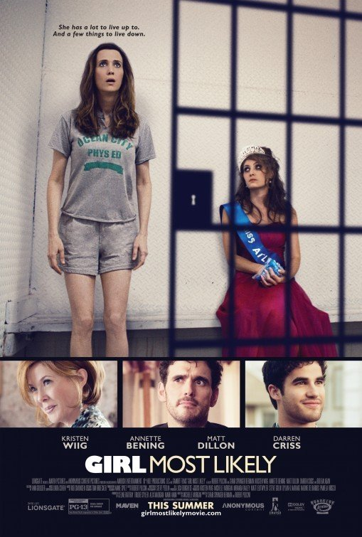 Girl Most Likely: nuovo poster USA