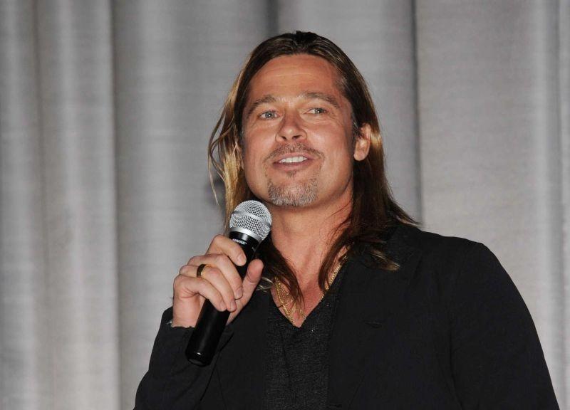 Brad Pitt durante la premiere di World War Z a Londra