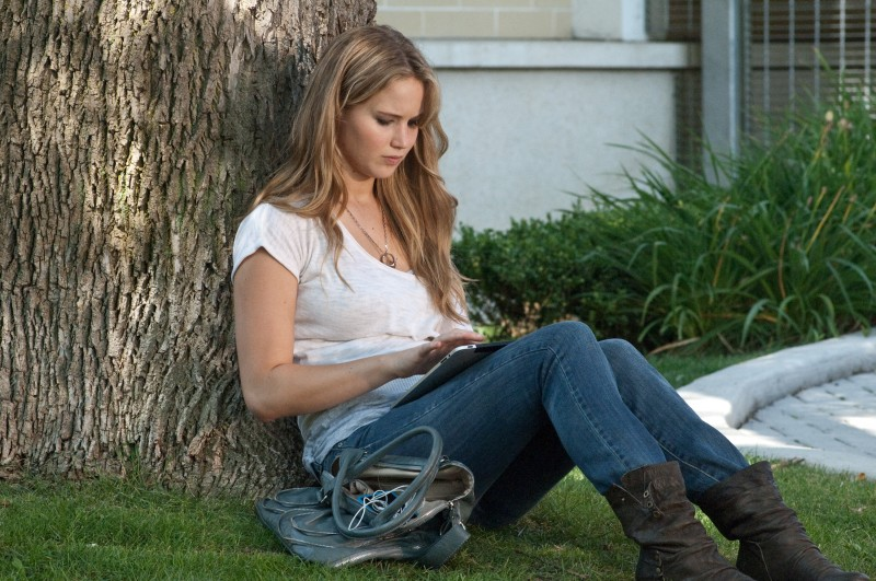 Jennifer Lawrence in una immagine esclusiva di Hates - House at the End of the Street