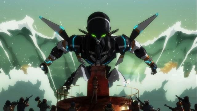 Gargantia on the Verdurous Planet: un'immagine tratta dall'anime