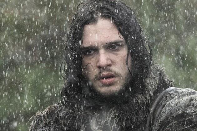 Il trono di spade: Kit Harington in una scena di The Rains of Castamere