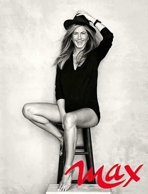 Jennifer Aniston su MAX di giugno 2013 - foto di Brian Bowen