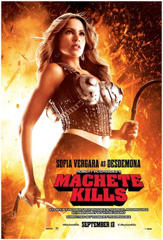 Machete Kills: secondo character poster di Sofia Vergara