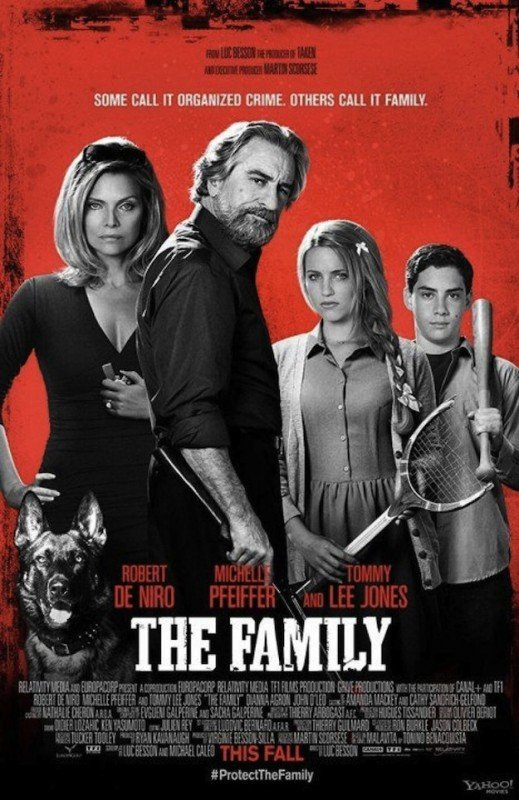 The Family: la locandina del film