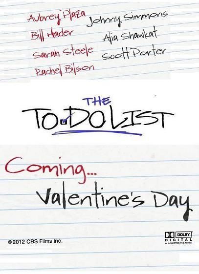 The To Do List: la locandina del film