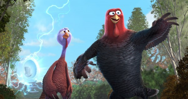 Free Birds: due dei simpatici tacchini protagonisti del cartoon