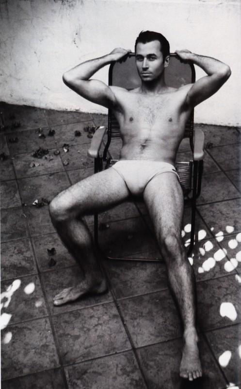 Il pornostar James Deen in una immagine sexy