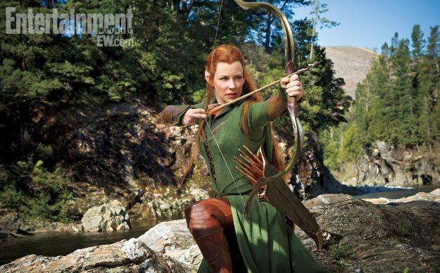 The Hobbit: la desolazione di Smaug: Evangeline Lilly nei panni di Tauriel