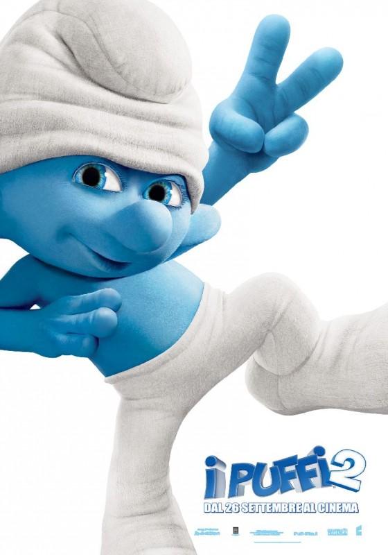 I Puffi 2: ecco il character poster con Tontolone