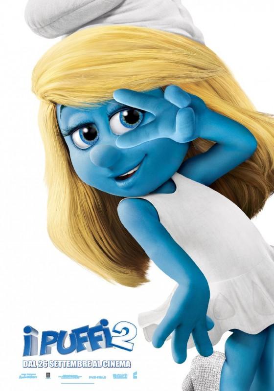 I Puffi 2: ecco il character poster di Puffetta