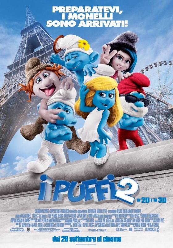 I Puffi 2: il poster italiano del film