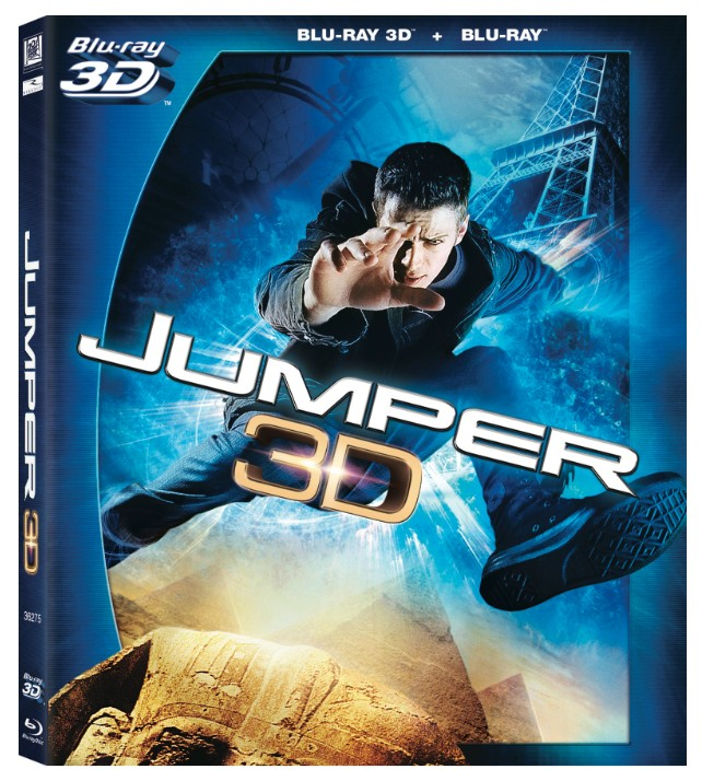 La copertina di Jumper 3D (blu-ray)