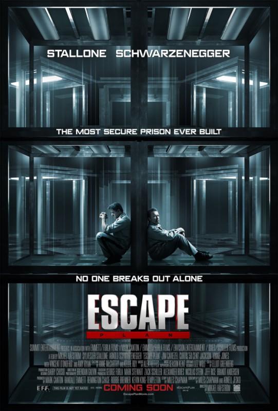 Escape Plan - Fuga dall\'inferno: la locandina del film