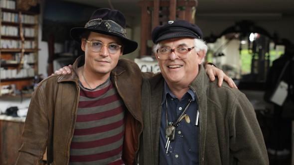 Per nessuna buona ragione: una scena del documentario con Johnny Depp