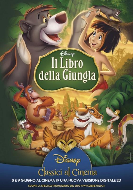 Il libro della giungla: la locandina della riedizione