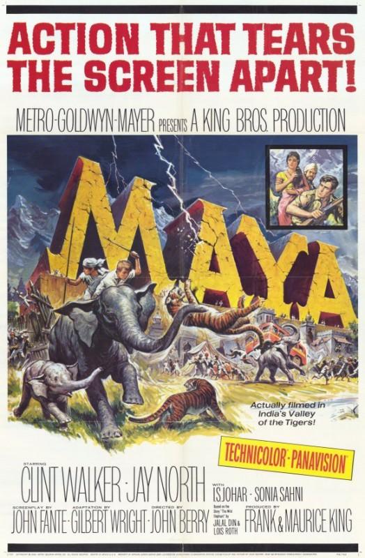 Maya: il poster