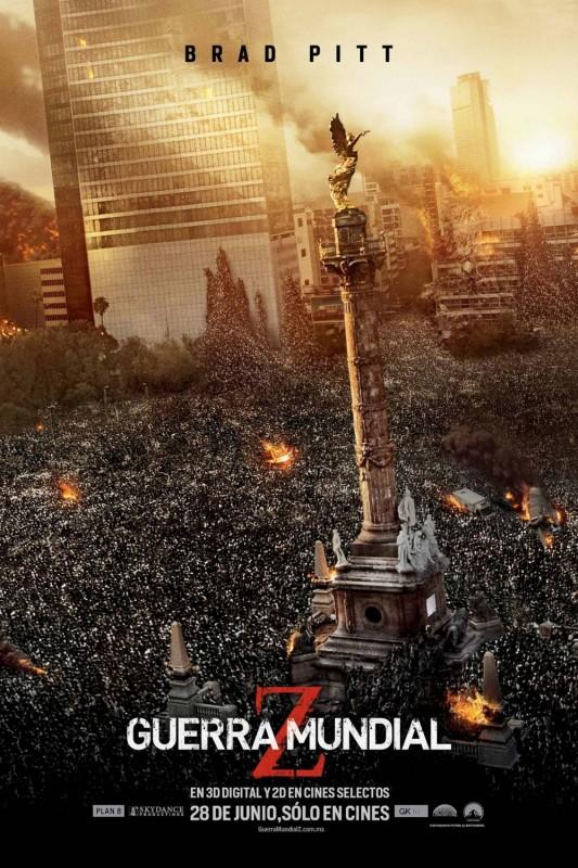World War Z: il poster messicano