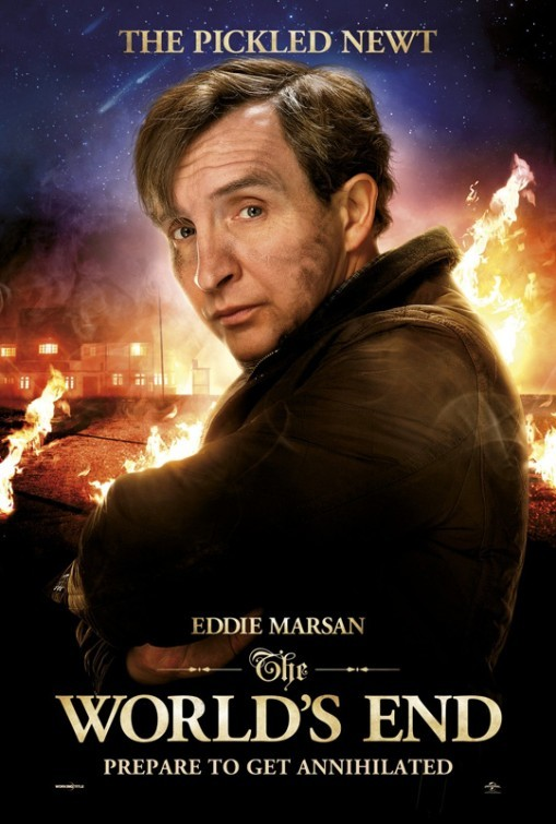 The World's End: character poster di Eddie Marsan