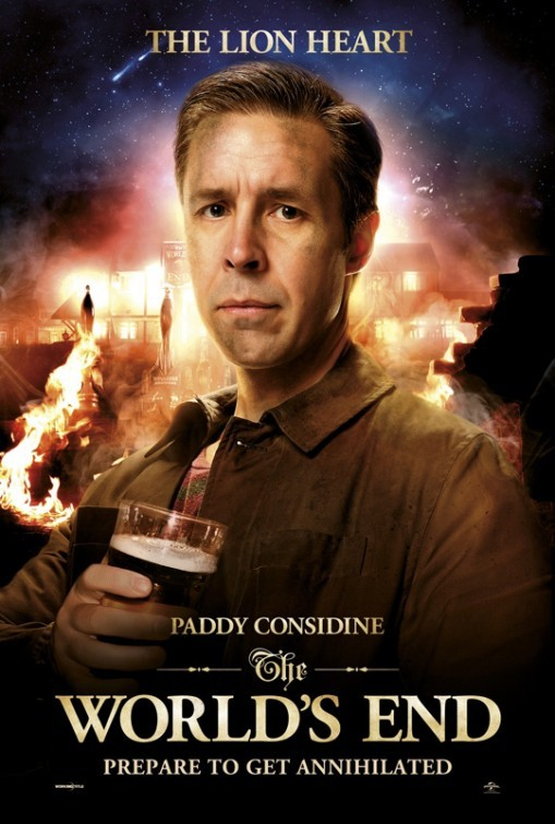 The World's End: character poster di Paddy Considine
