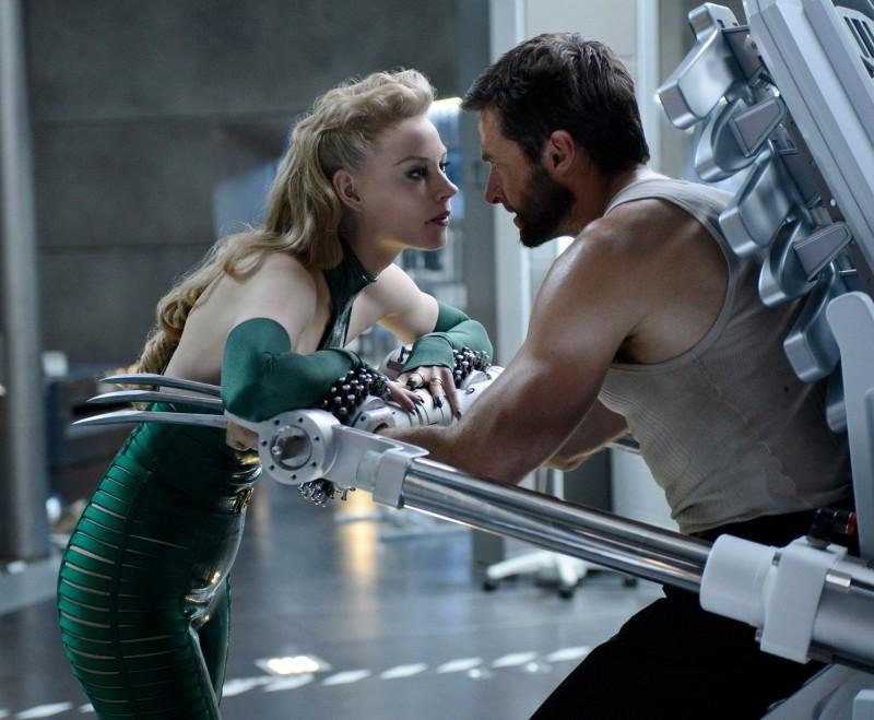 Wolverine: L'immortale, Svetlana Khodchenkova in un faccia a faccia con Hugh Jackman