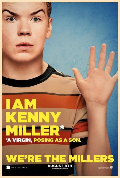 Come ti spaccio la famiglia: il character poster di Will Poulter