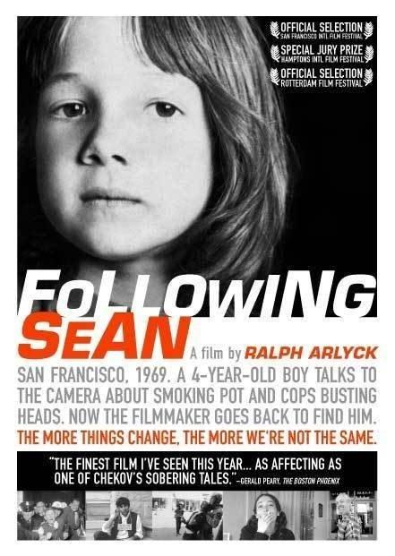 Following Sean: la locandina del film