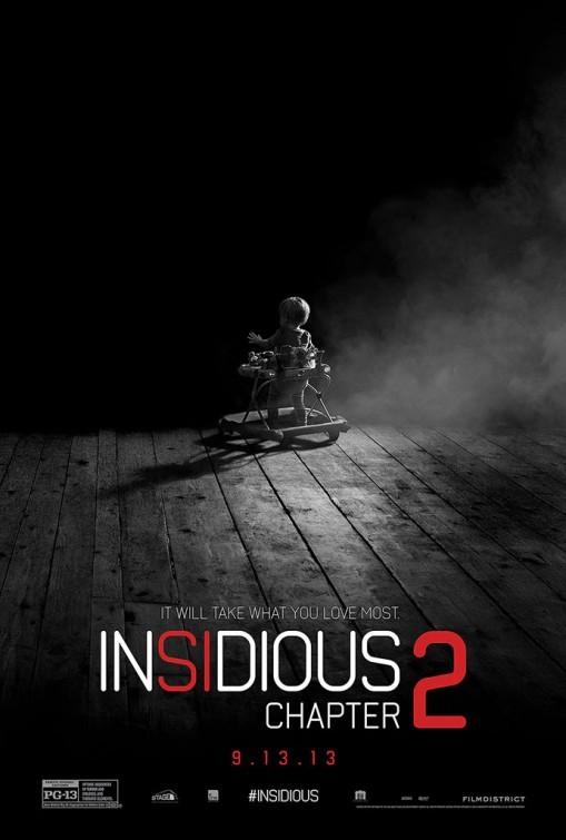 Insidious Chapter 2: la locandina del film
