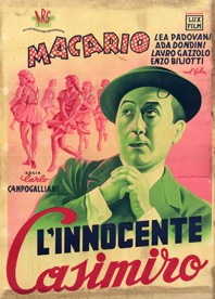 L'innocente Casimiro: la locandina del film