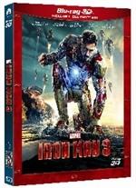 La copertina di Iron Man 3 3D (blu-ray)