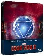 La copertina di Iron Man 3 3D - Limited Steelbook (blu-ray)