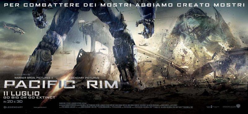 Pacific Rim: scontro tra mostri nel nuovo artwork del film