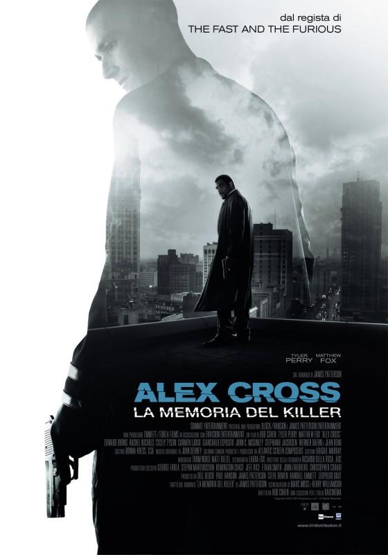 Alex Cross: la locandina italiana del film