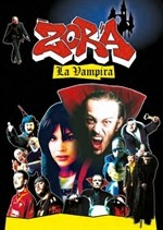 La copertina di Zora la vampira (dvd)