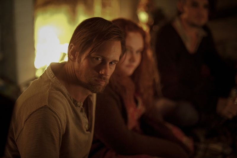 The East: Alexander Skarsgård in una scena del film