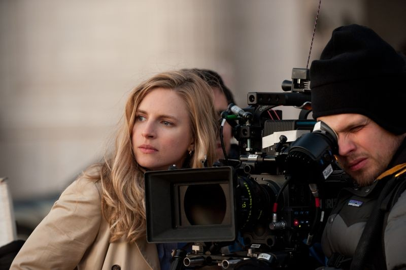 The East: Brit Marling sul set