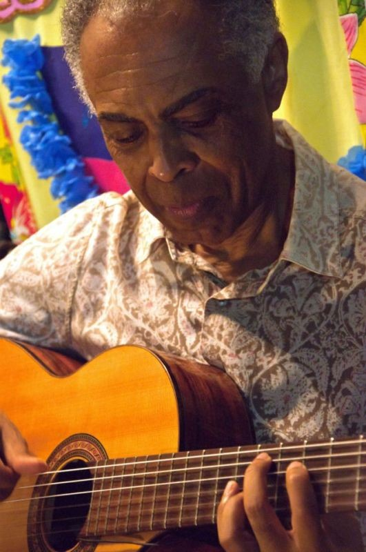 Viramundo: Gilberto Gil a Bahia in un momento del film