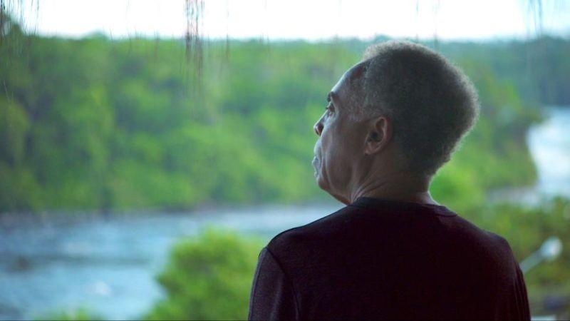 Viramundo: il musicista brasiliano Gilberto Gil in Amazzonia in una scena del documentario