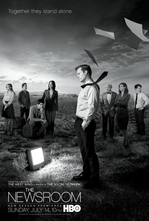 The Newsroom: un poster per la stagione 2 della serie HBO