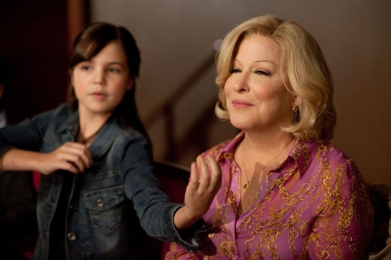 Bette Midler in Parental Guidance con la nipotina Bailee Madison