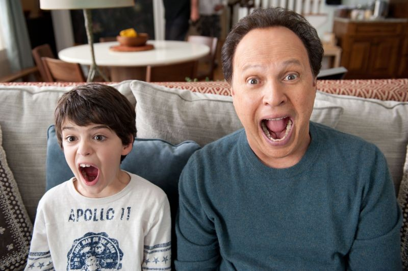 Billy Crystal in Parental Guidance con il nipotino Joshua Rush