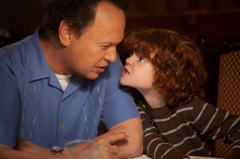 Billy Crystal in Parental Guidance con il nipotino Kyle Harrison Breitkopf