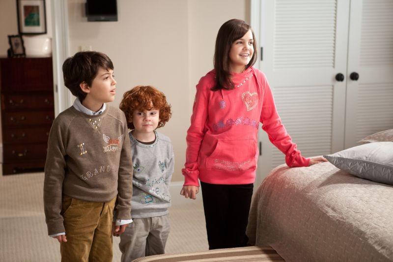 Parental Guidance: Joshua Rush, Bailee Madison e Kyle Harrison Breitkopf in una scena