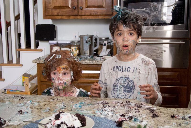Parental Guidance: Kyle Harrison Breitkopf e Joshua Rush fanno danni in una scena del film