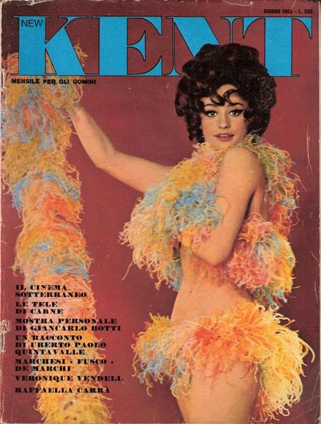Raffaella Carrà sulla rivista Kent