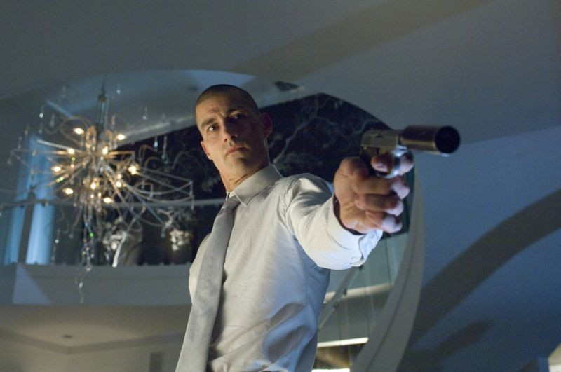 Matthew Fox in una scena del poliziesco Alex Cross