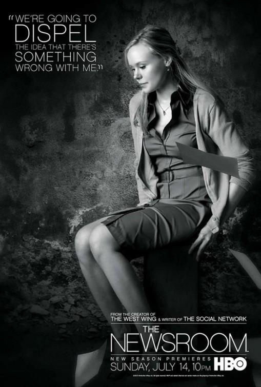 The Newsroom: un character poster per il personaggio interpretato da Alison Pill