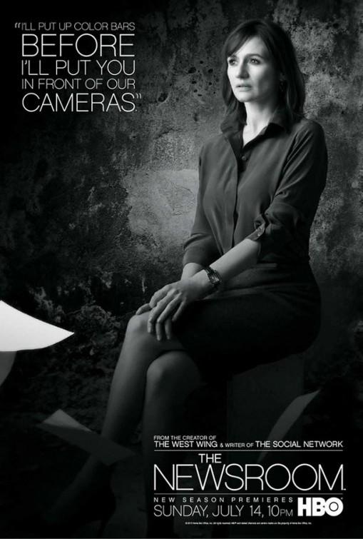 The Newsroom: un character poster per il personaggio interpretato da Emily Mortimer