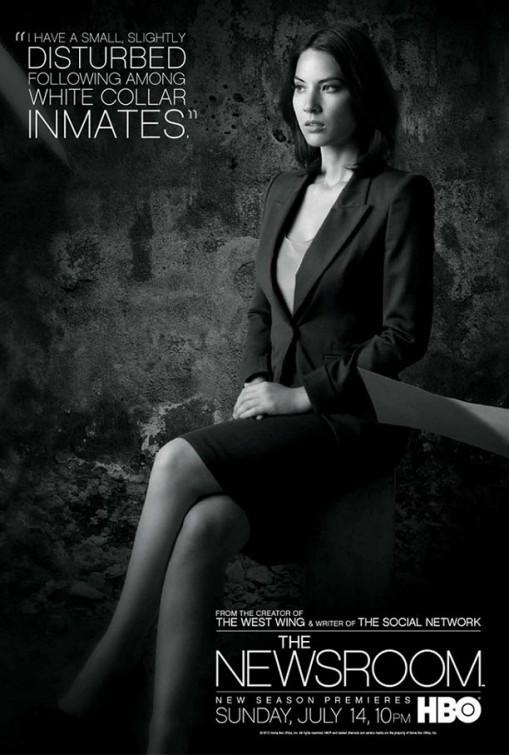 The Newsroom: un character poster per il personaggio interpretato da Olivia Munn