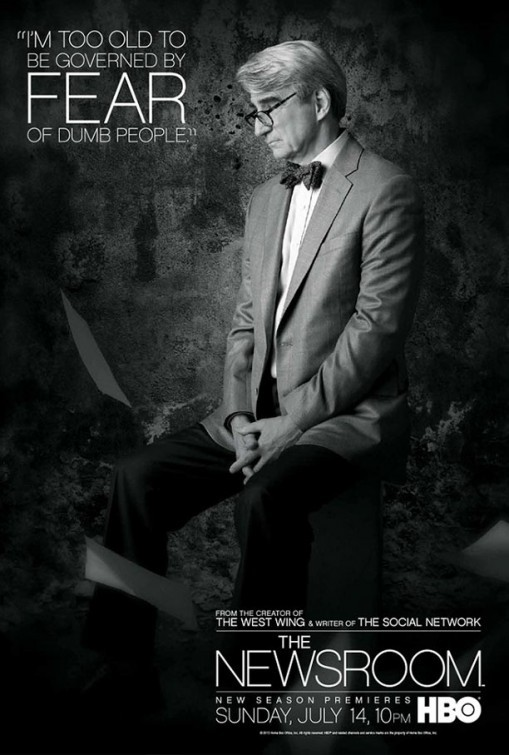 The Newsroom: un character poster per il personaggio interpretato da Sam Waterston